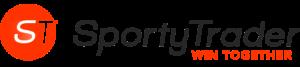 Logotipo de sportytrader: ganen juntos