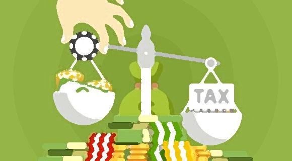 las apuestas en línea ganan impuestos: ¿qué debe pagar y a quién?